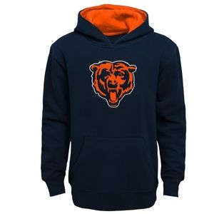 NFL Chicago Bears Prime Navy Pullover Hoodie L
